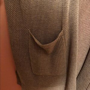 Beige Mid Sleeve Cardigan